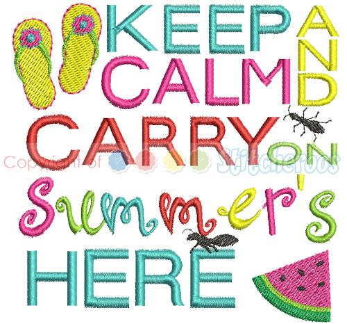 Keep Calm Summer 2