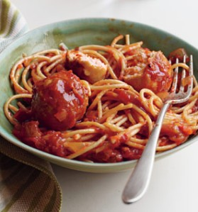 spaghetti-turkey-meatballs