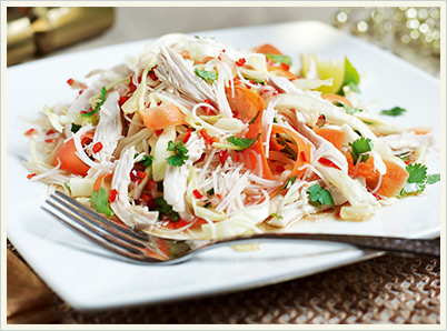 Foodie Friday: Asian-style Turkey Salad | The Daily Waffle